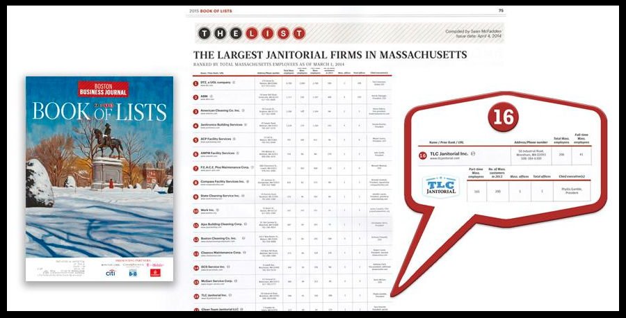 Boston Business Journal 2015 Book of Lists